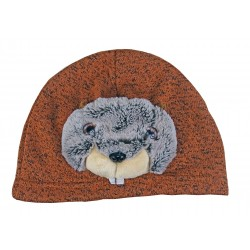 "Bonnet enfant, animal ""Marmotte"""