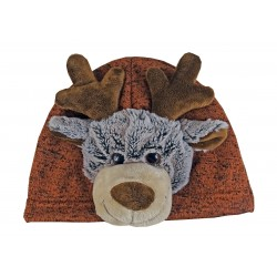 "Bonnet enfant, animal ""Elan"""