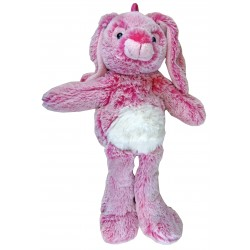 Peluche Lapin rose Longues jambes