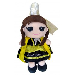 Backpack Doll Breton, Rodaline