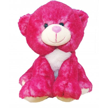 Peluche Ours Framboise RODADOU