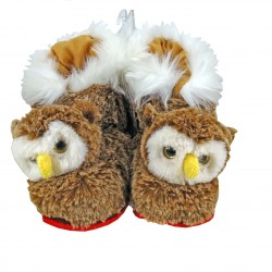 Owl slippers (from 0-6 months to 41-44)
