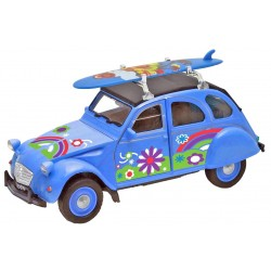 Customizable Blue 2CV Car