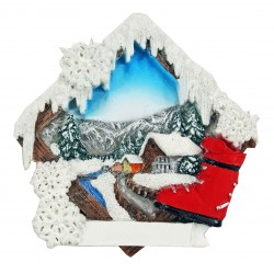 Magnet mountain scenery