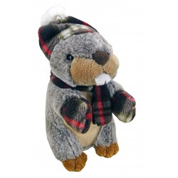 Marmot towel Bonnet/scarf and gloves (22 or 30cm)