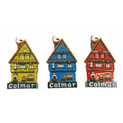 "Magnet Alsatian House ""Colmar"" (3 colors)"
