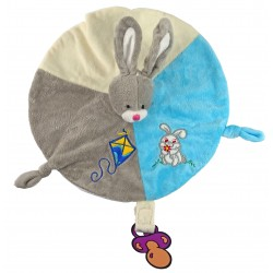 Doudou Grey Rabbit RODADOU