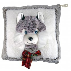 Husky pyjamas range cushion