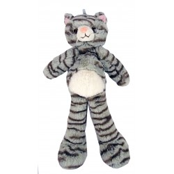Peluche Chat longues jambes.