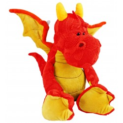 Dragon en peluche (2 couleurs disponibles)