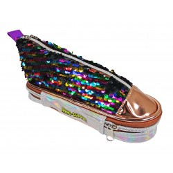 Trousse Basket Sequins Multicolor