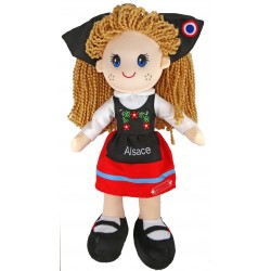 Alsatian doll 35 cm, customizable