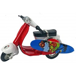 Scooter Rouge miniature personnalisable