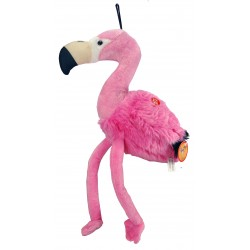 Peluche Musicale Flamant rose