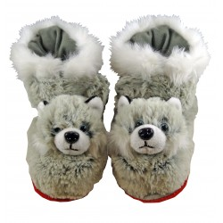 Husky slippers (0-6 months to 41-44)