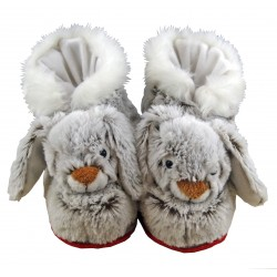 Rabbit slippers (0-6 months to 41-44)