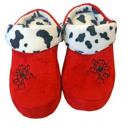 Cow sandals slippers