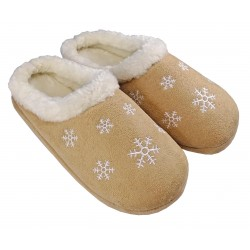 Winter slippers flakes