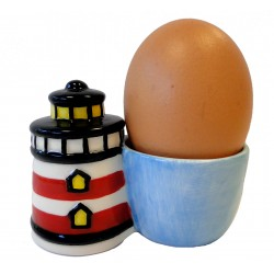 Lighthouse ceramic shell