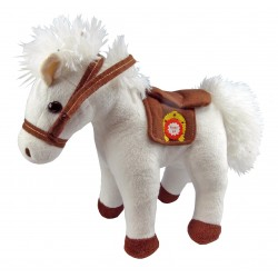 Peluche Musicale Cheval Blanc