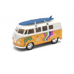 Van Volkswagen Yellow Customizable
